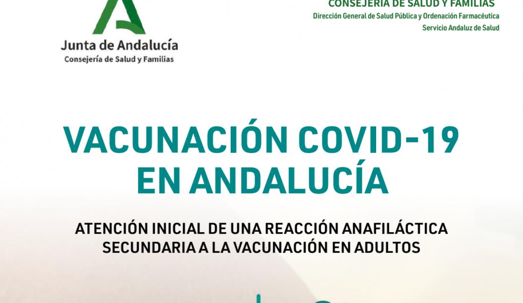 Anafilaxia algoritmo actuación inicial adultos (enero 2021)
